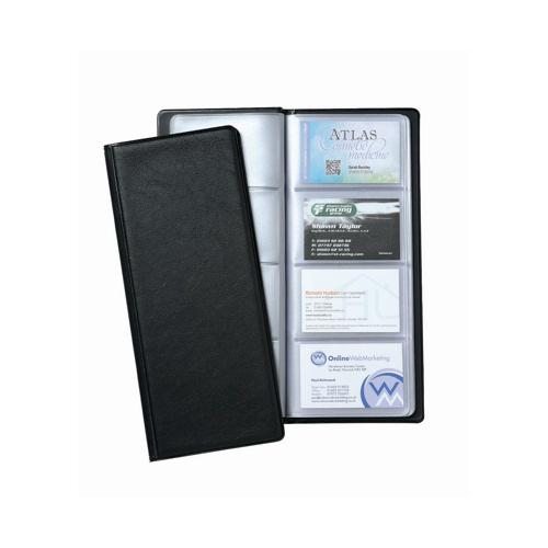 Value Business Card Holder 64 Pocket Black