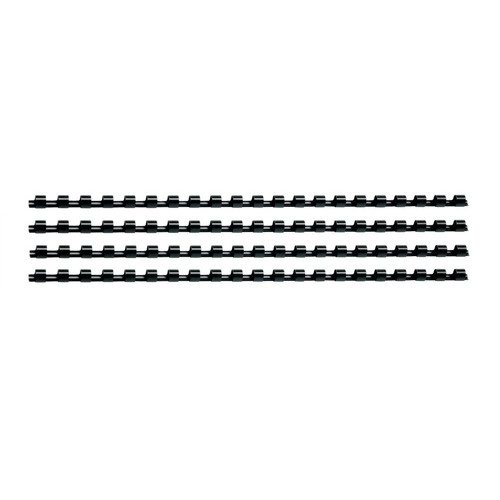 Value Plastic Binding Comb A4 12mm Black (100)