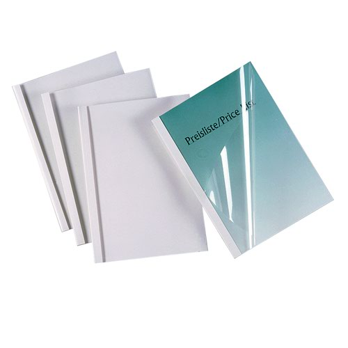 GBC Thermal Binding Cover 1.5mm White (100) IB370014