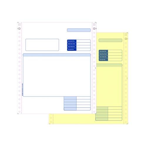 Sage Compatible Dot Matrix Invoice Forms 2part (1000) SE02