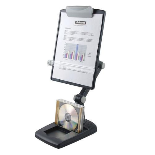 Fellowes Weighted Base Copyholder Graphite 9169801