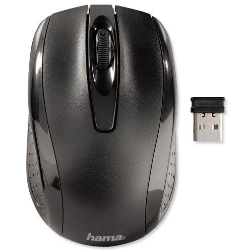 Hama AM-7200 Wireless Optical Mouse 00086532