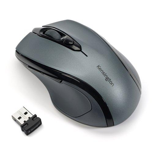 Kensington ProFit Wireless Mid-Sized Mouse Grey K72423WW