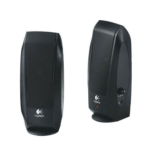 Logitech S120 Speakers 0.6W Black 980-000011