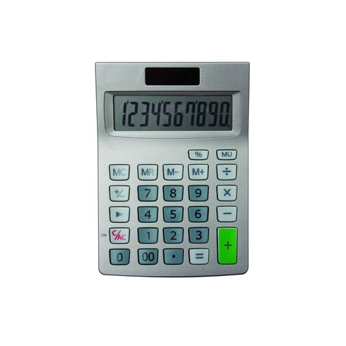 Value Calculator 10 Digit Dual Power Semi Desk