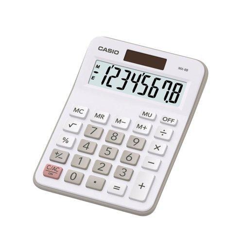 Casio MX-8B-WE Desktop Calculator
