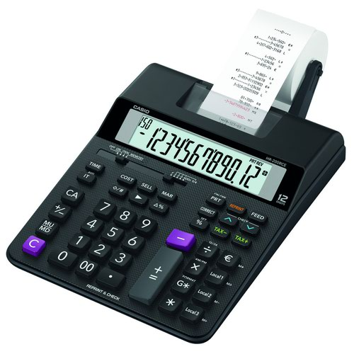 Casio Printing Calculator HR-200RCE