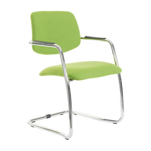 Tuba Cantilever Half Back Conference Chair TUB100C1