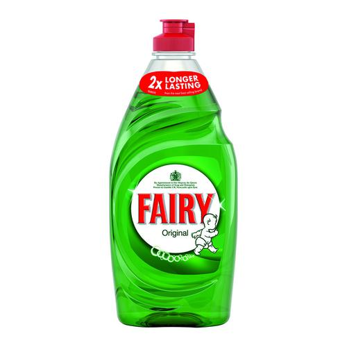Fairy Washing Up Liquid Original 650ml (2)