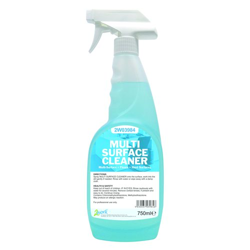 Multi Surface Cleaner Spray Trigger Bottle 750ml