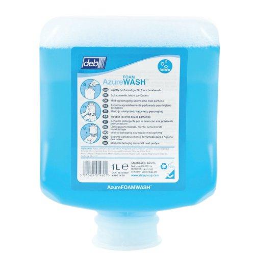 Deb Azure Foam Hand Wash Cartridge 1 Litre (6) AZU1L