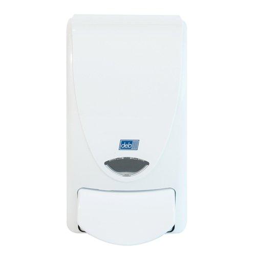Deb White Foam Hand Wash Dispenser 1 Litre WHB1LDS