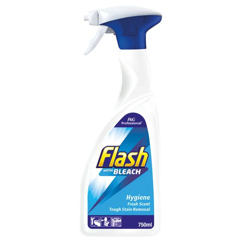 Flash Clean & Bleach Spray 750ml 541314988899