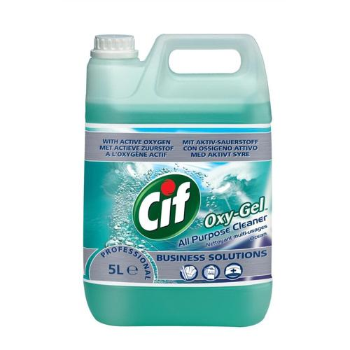 Cif Oxy-Gel All Purpose Cleaner Ocean 5 Litre 7510015