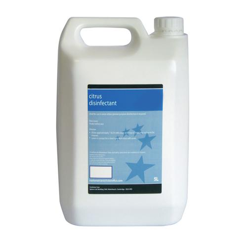 Concentrated Disinfectant Citrus 5 Litre