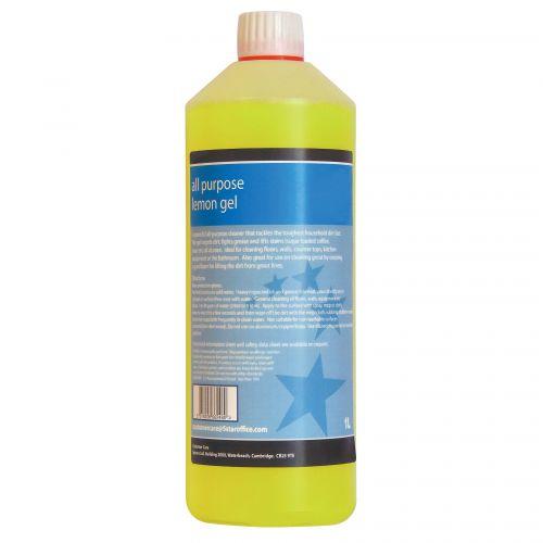 All Purpose Cleaning Gel Lemon 1 Litre