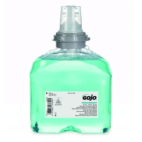 GOJO TFX Freshberry Foam Hand Soap Refill 1200ml (2) 5361-02-EEU