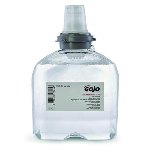 GOJO TFX Mild Antimicrobial Foam Handwash Refill 1200ml (2) 5378-02-EEU00