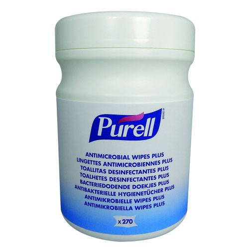 PURELL Antimicrobial Wipes Plus (270) 9213-06-EEU00