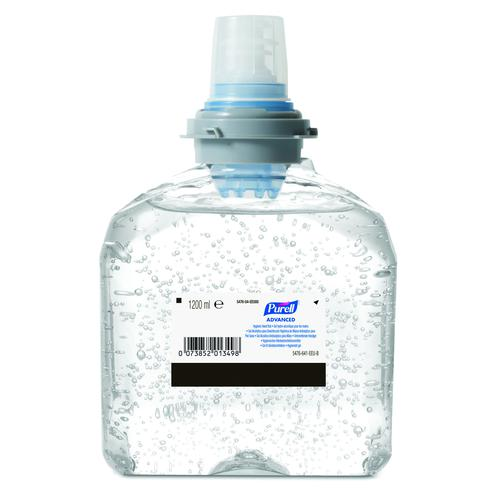 PURELL TFX Advanced Hygienic Hand Rub Refill 1200ml (4) 5476-02-EEU