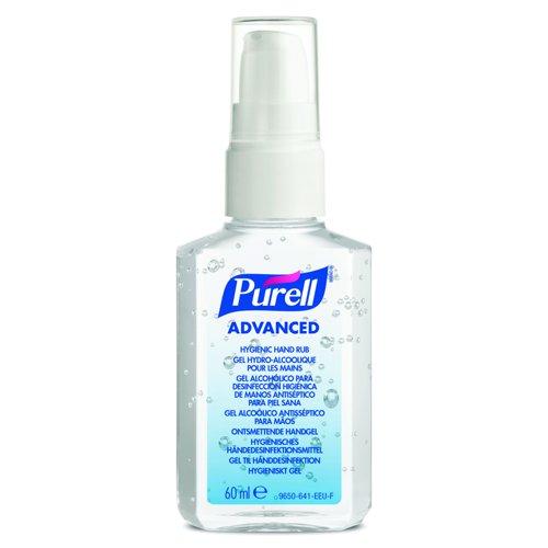 PURELL PERSONAL Advanced Hygienic Hand Rub Spray Pump 60ml (24) 9606-24-EEU0