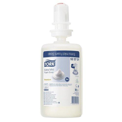 Tork S4 Extra Mild Hand Soap Refill 1litre (6) 520701