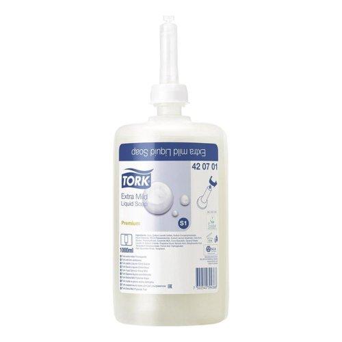 Tork S1 Extra Mild Liquid Hand Soap 1litre (6) 420701