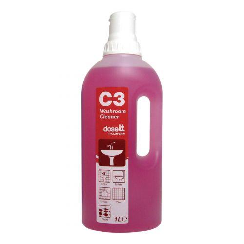 C3 Washroom Cleaner 1 Litre (8)