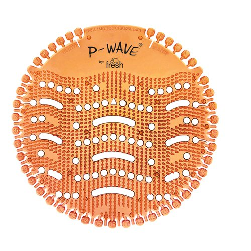 P-Wave Urinal Deodoriser Screen Mango Orange (10)