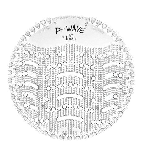 P-Wave Urinal Deodoriser Screen Honeysuckle Clear (10)
