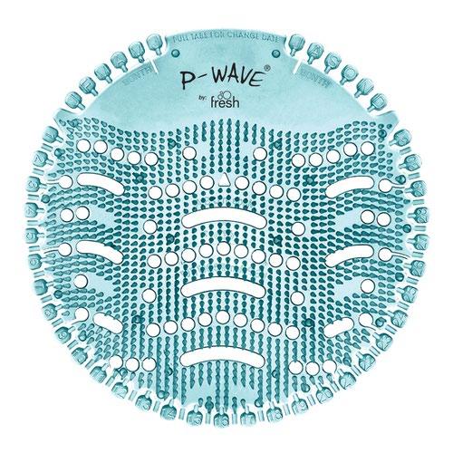 P-Wave Urinal Deodoriser Screen Ocean Mist Teal (10)