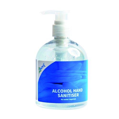 Value Hand Sanitiser Gel 500ml 1000000083