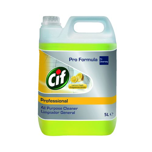 Cif Professional All Purpose Cleaner Lemon 5 Litre