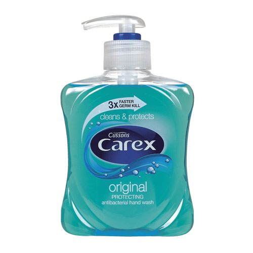 Carex Antibacterial Hand Wash 250ml (2) 23461