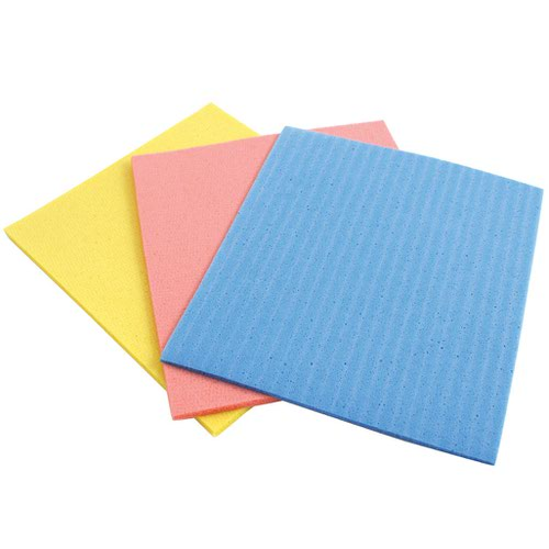 Cellulose Sponges Assorted Colours (18)