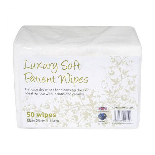 EcoTech Luxury Soft Patient Wipes (50) PWF2000LUX