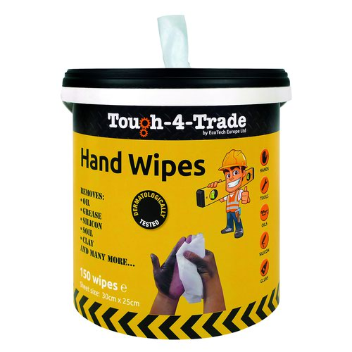 EcoTech Industrial Hand Wipes (150) EBMH150