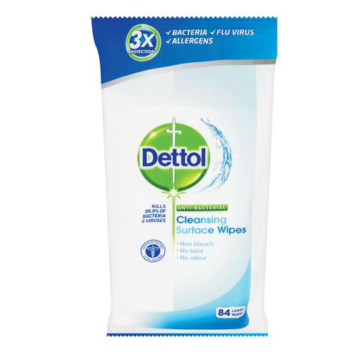 Dettol Antibacterial Surface Cleanser Wipes (84) 3007228