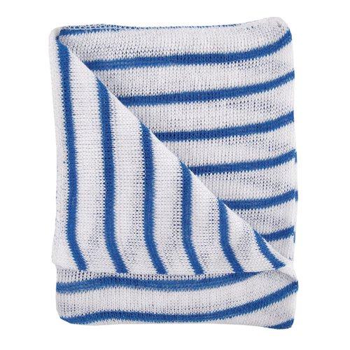 Hygiene Dishcloth 406x304mm Blue & White (10)