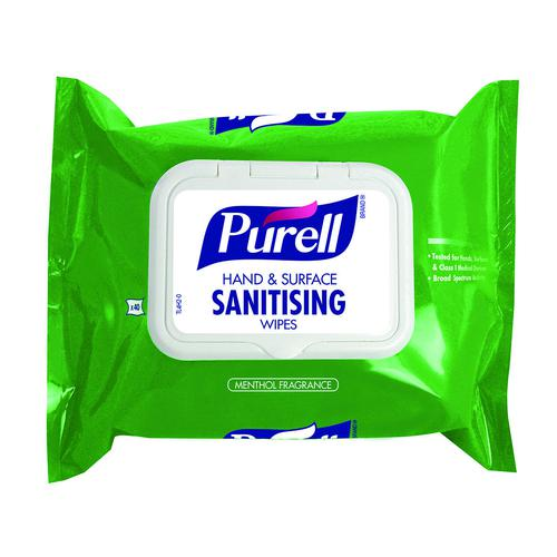 PURELL Hand and Surface Wipes Flowpack (40)