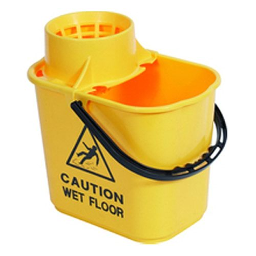 Mop Wringer Bucket 15litre Yellow SM15YL