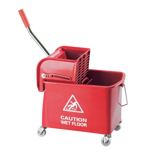 Contico Mobile Mop Bucket 15 Litre Red KS15RD