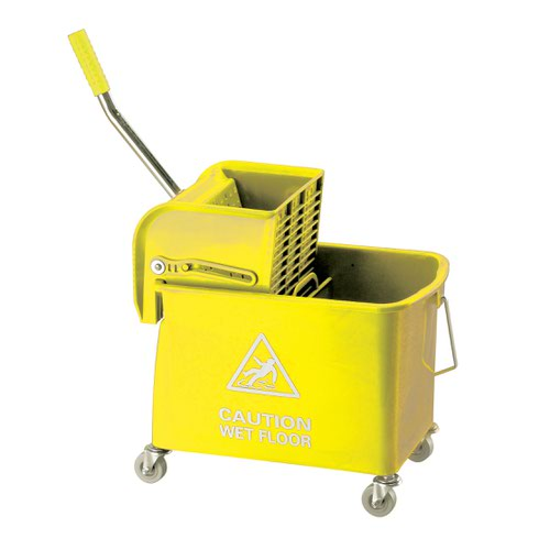 Contico Mobile Mop Bucket 15 Litre Yellow KS15YL