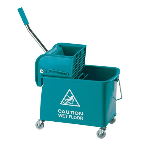 Contico Mobile Mop Bucket 15 Litre Green KS15GN
