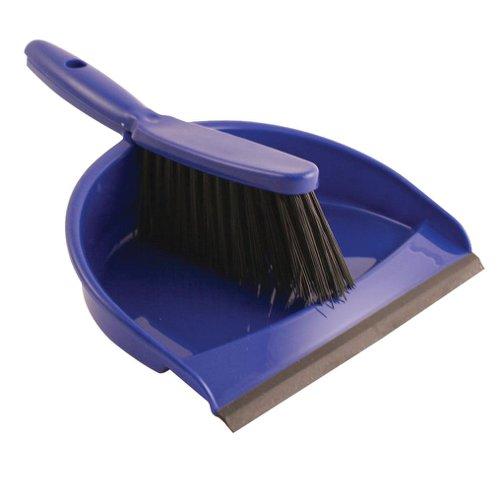Bentley Dustpan & Brush Set Blue