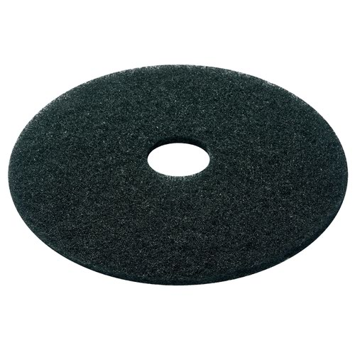 Floor Pads 17inch Black Stripping (5)