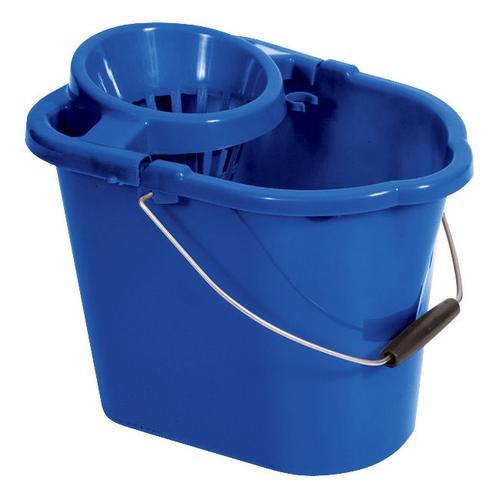 Oval Mop Bucket Blue 12 Litre MBPBL