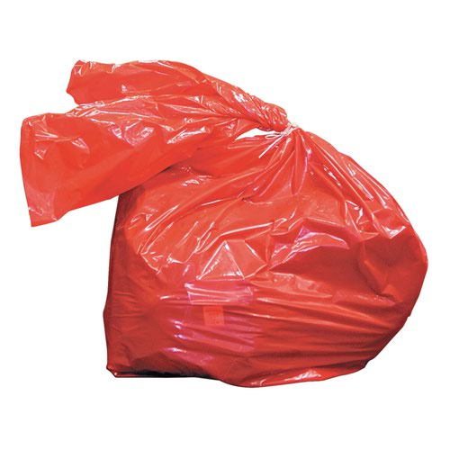 Laundry Soluble Strip Bags Red 80litre