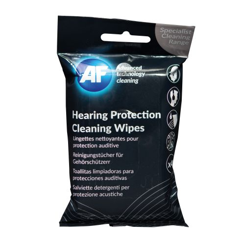 AF Hearing Protection Cleaning Wipes (40) EPCW040