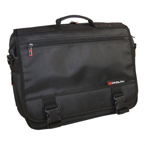 Monolith Microfibre Soft Briefcase Blk